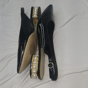 Marc Fisher pearl sling back